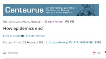 Centaurus - How epidemics end